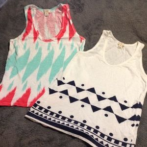 2 JCrew factory tanks